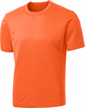 port and company orange performance dry wick t-shirt